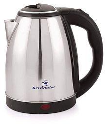 Kelvinator 1.8 Liter 1500 Watt Stainless Steel Electric Kettle