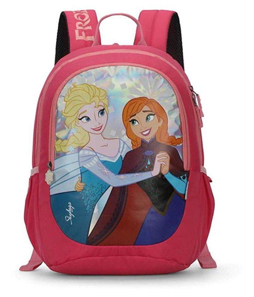 Skybags Pink Backpack