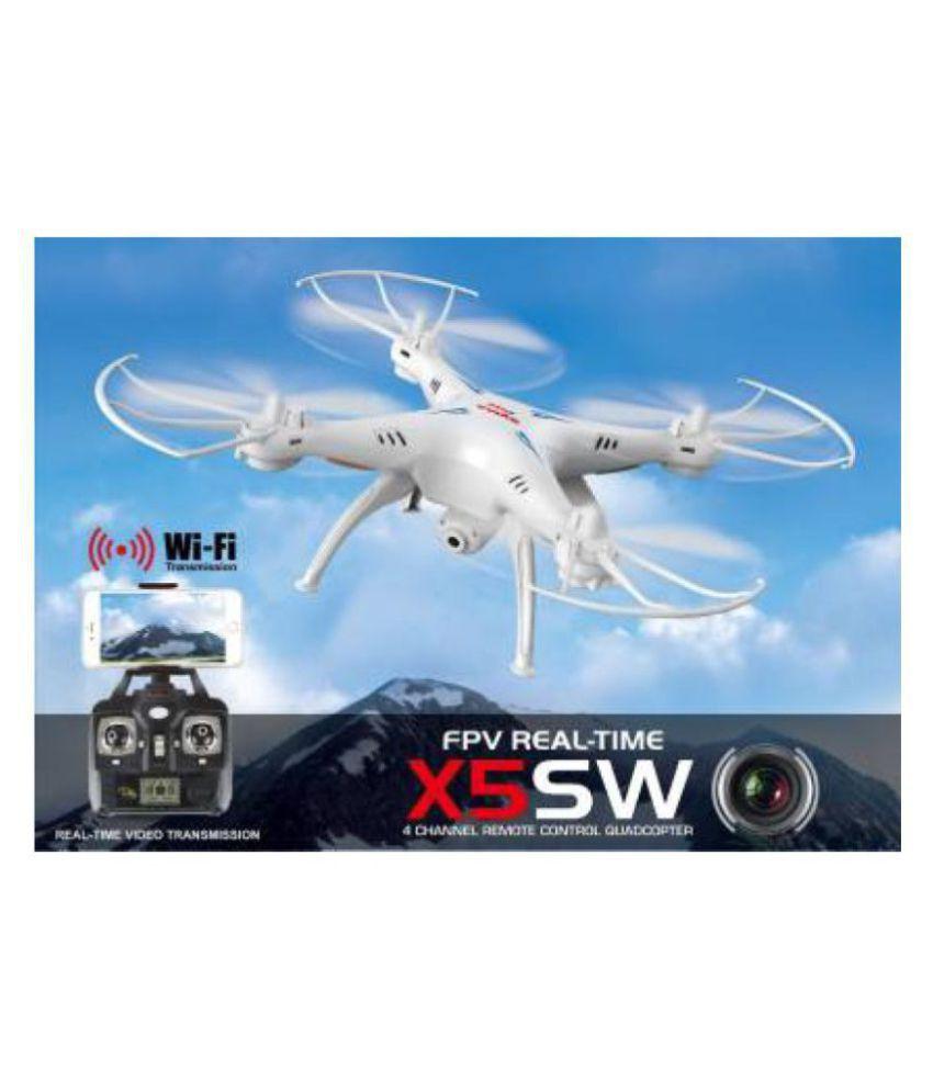 sonido Syma X5SW Wifi FPV Explorers 2.4Ghz 4CH RC Quadcopter Drone HD Camera