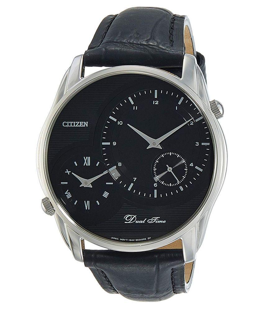 Citizen AO3009-04E Leather Analog Men's Watch