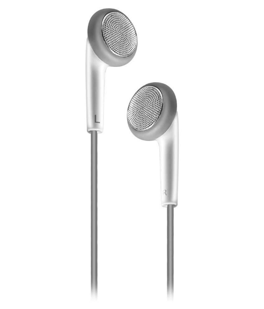 Gionee EP On Ear Headset with Mic white