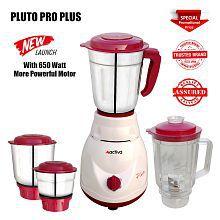 Activa Pluto Pro Plus 650 Watt 4 Jar Mixer Grinder