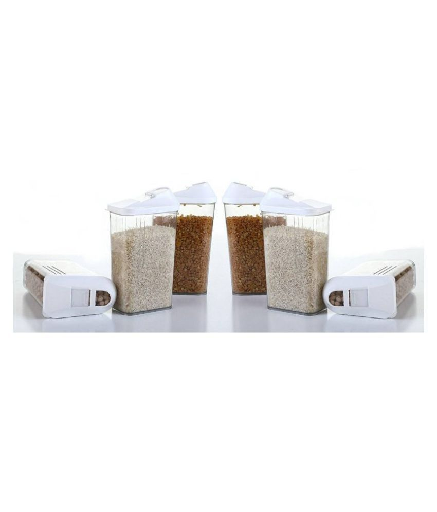 RB Easy flow Polyproplene Food Container Set of 6 750 mL