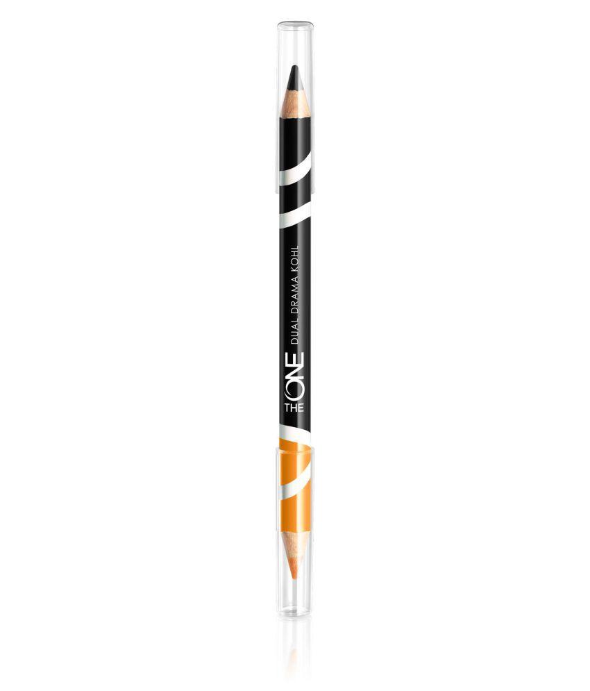 The One Dual Drama Orange Ravan Kajal Pencil Brown 2 g