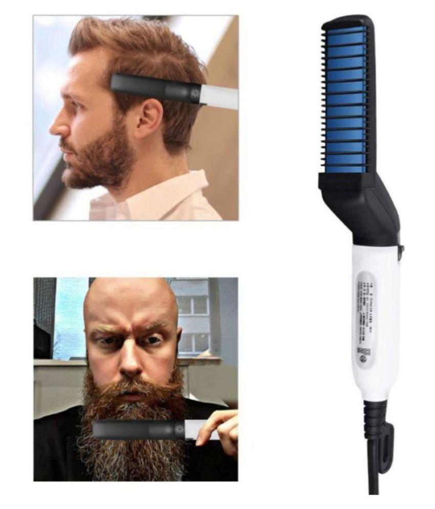 RK INDIA men's Beard &  Hair Straightener ( Black )