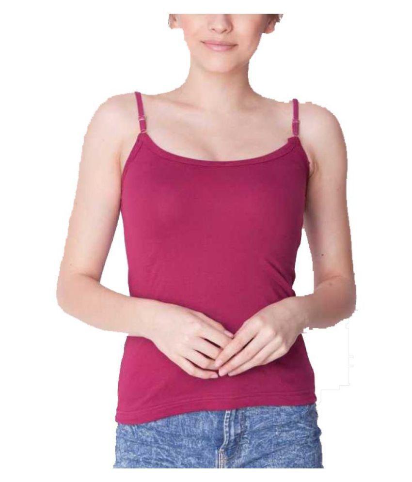 Skandas Trendz Cotton Camisoles - Purple