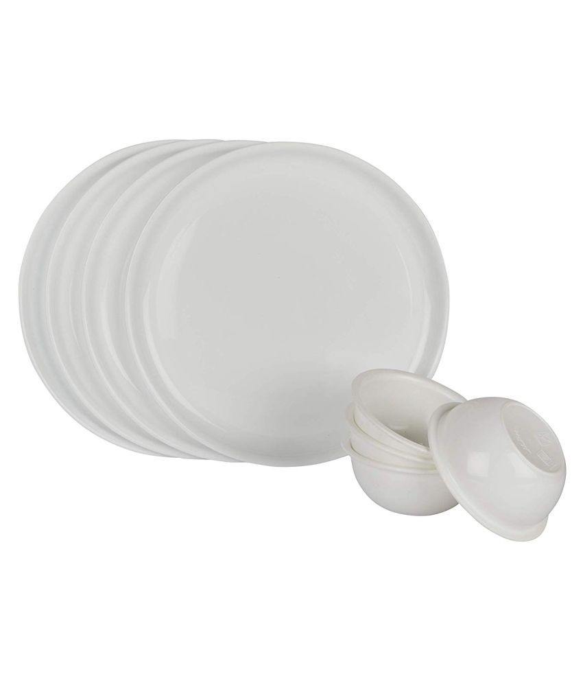 Homray Exotic Plastic Dinner Set of 8 Pieces