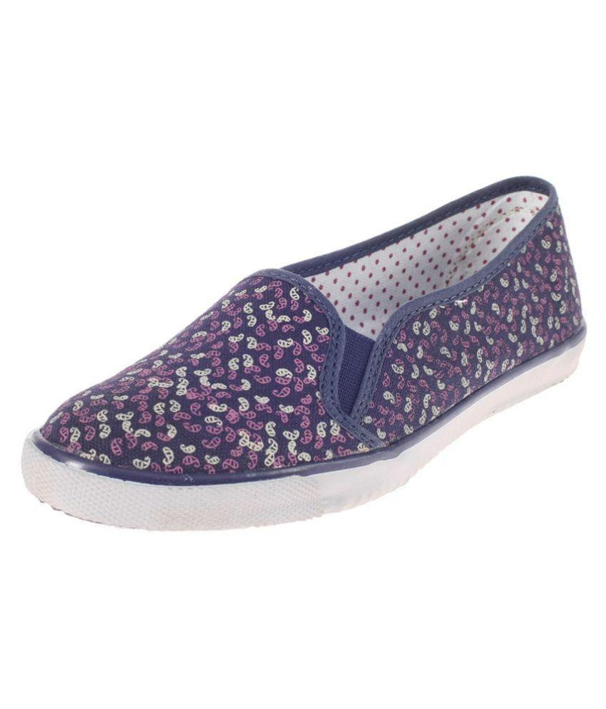 Khadim's Navy Casual Shoes