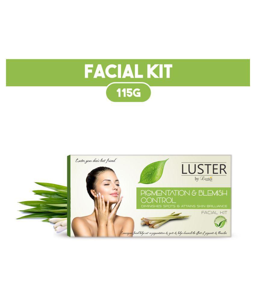 Luster Pigmentation & Blemish Control Facial Kit 115 g