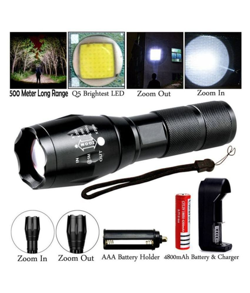 Shuangyou 5W Flashlight Torch - Pack of 1