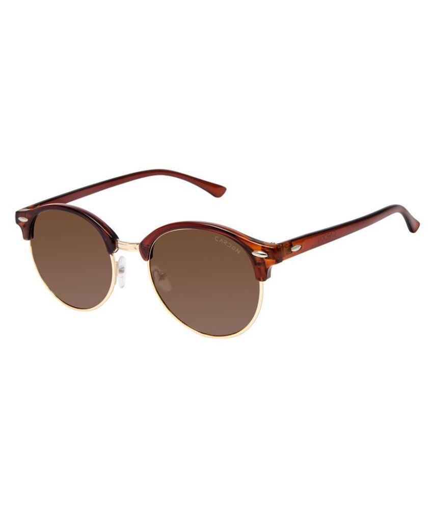 Cardon - Brown Clubmaster Sunglasses ( 4626 )