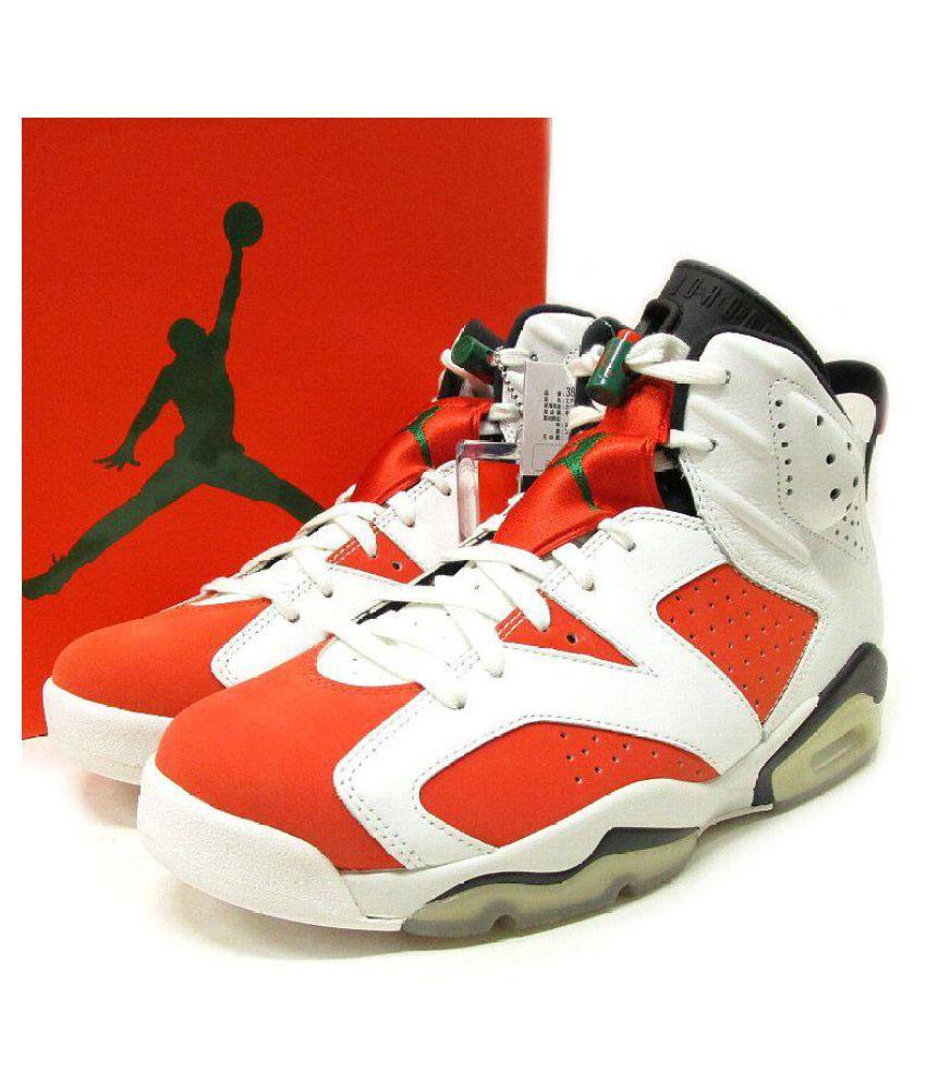 Nike AIR JORDAN AJ6 RED Orange Running