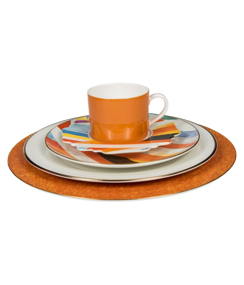 The Art Brewery Ceramic Dinner Set of 5 Pieces