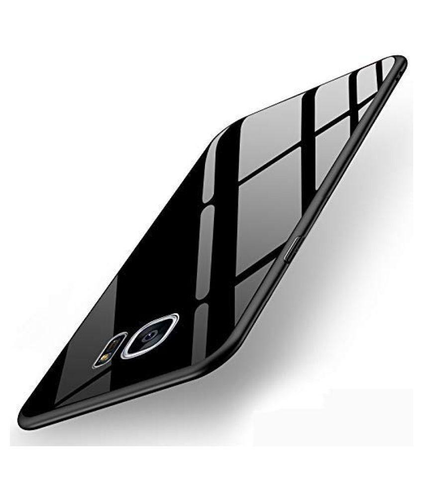 Samsung Galaxy S7 Mirror Back Covers Designer Hub   Black