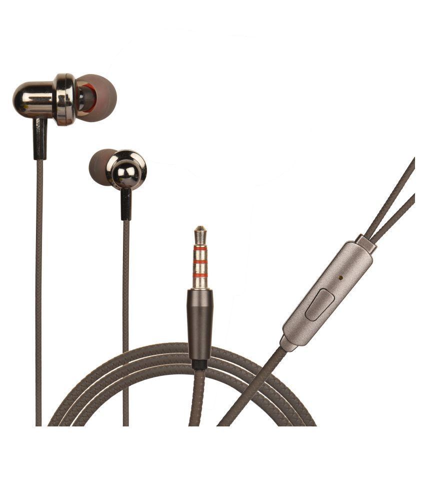 hitage HB91BK In Ear Wired With Mic Headphones/Earphones