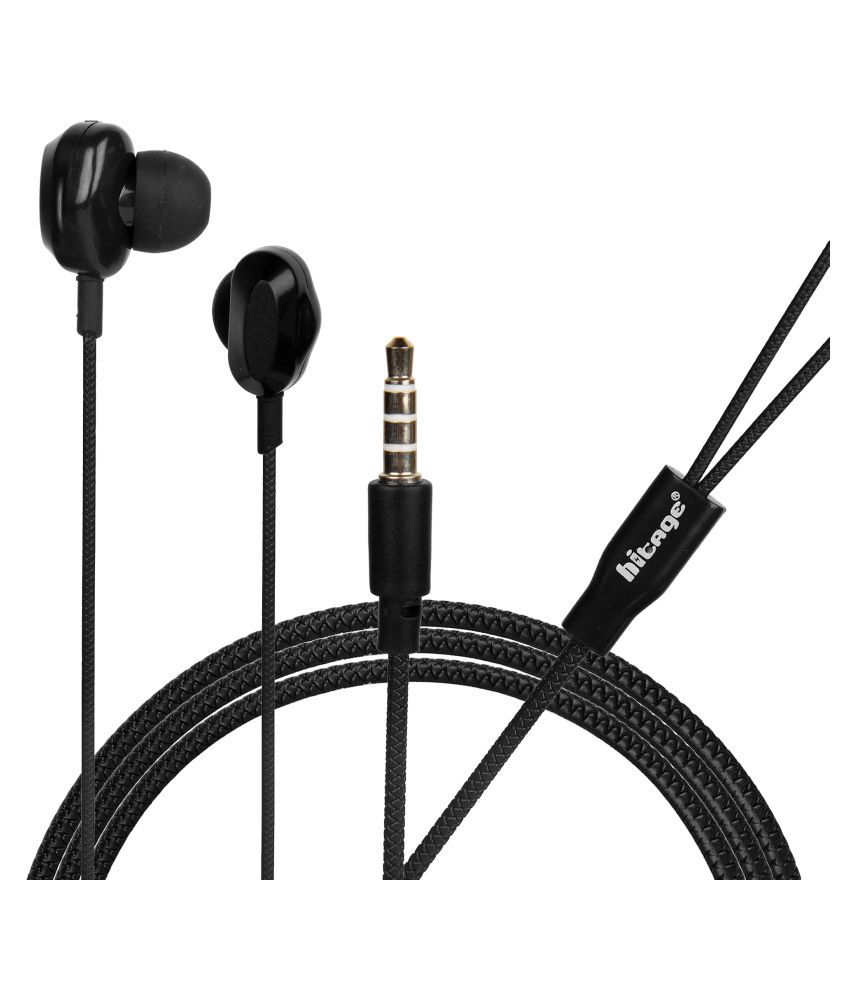 hitage PERFUME CHAMP In Ear Wired With Mic Headphones/Earphones