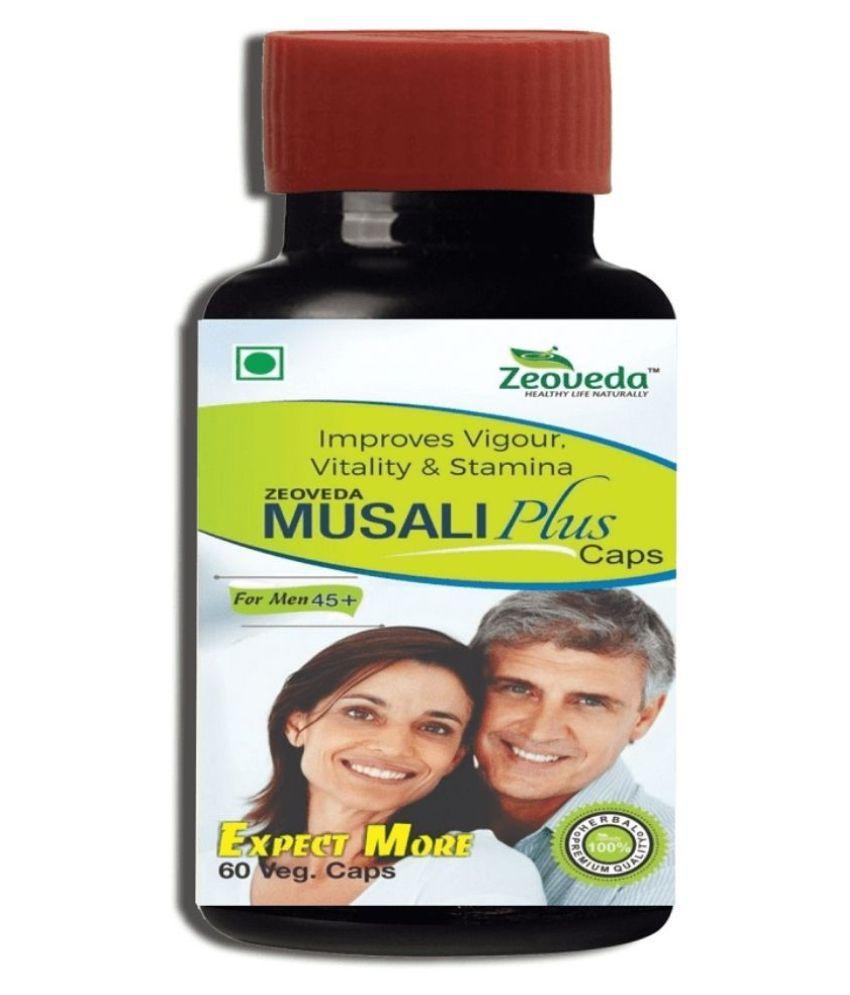 zeoveda herbals Musali Plus Capsule 60 gm Pack Of 1