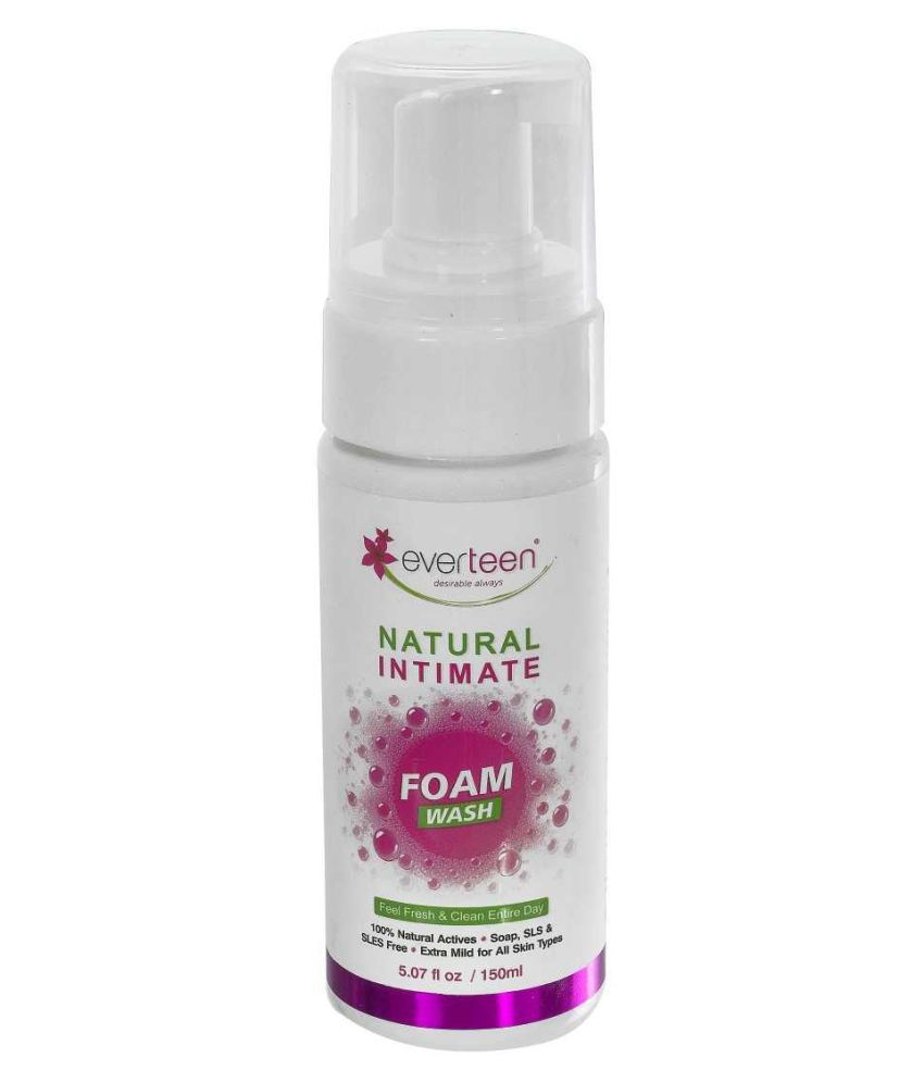 Everteen Intimate Cleansing Foam Natural 150 mL