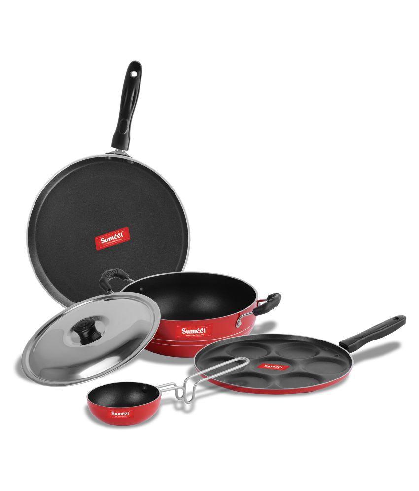 Sumeet RongaNonstick 5 Piece Cookware Set
