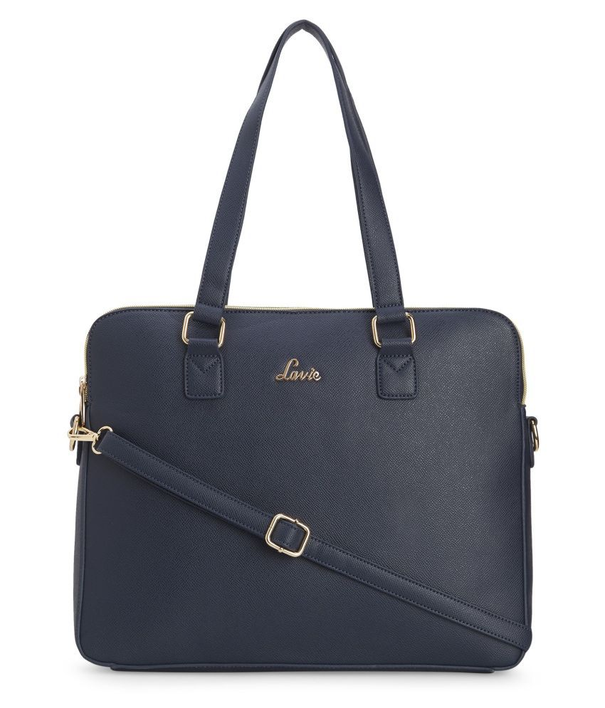 Lavie Blue P.U. Shoulder Bag