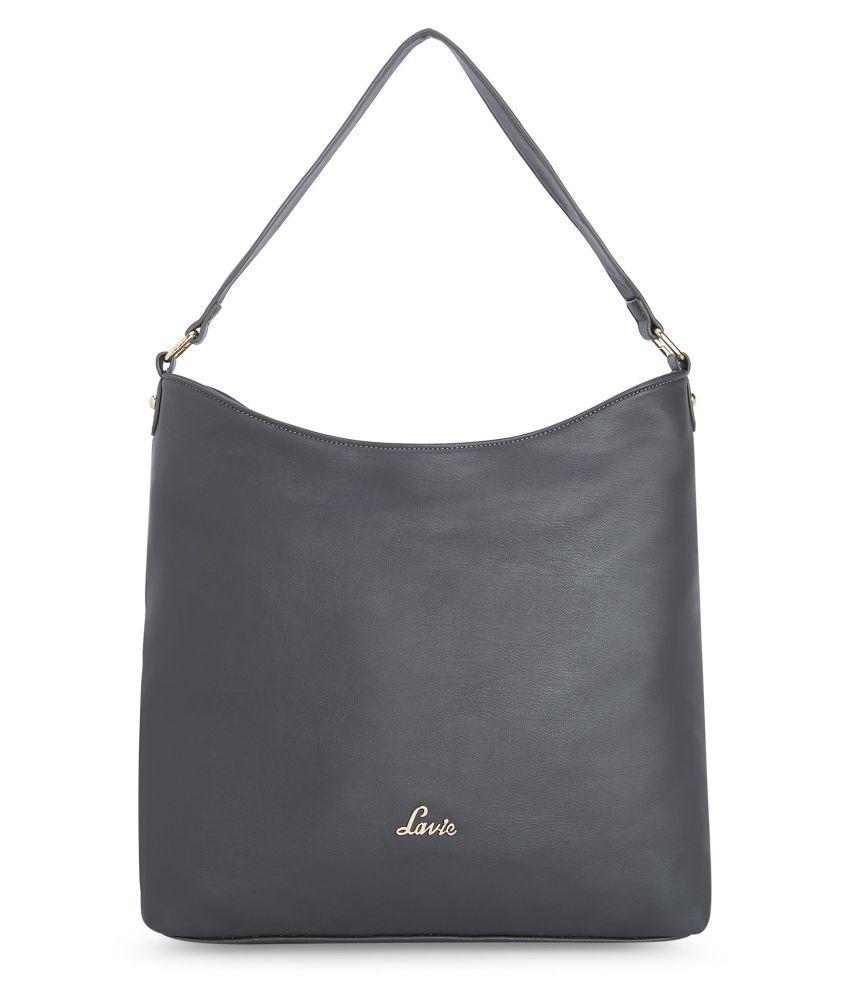 Lavie Gray P.U. Hobo Bag