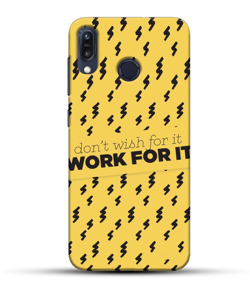 Asus Zenfone 5Z Printed Cover By PIKKME