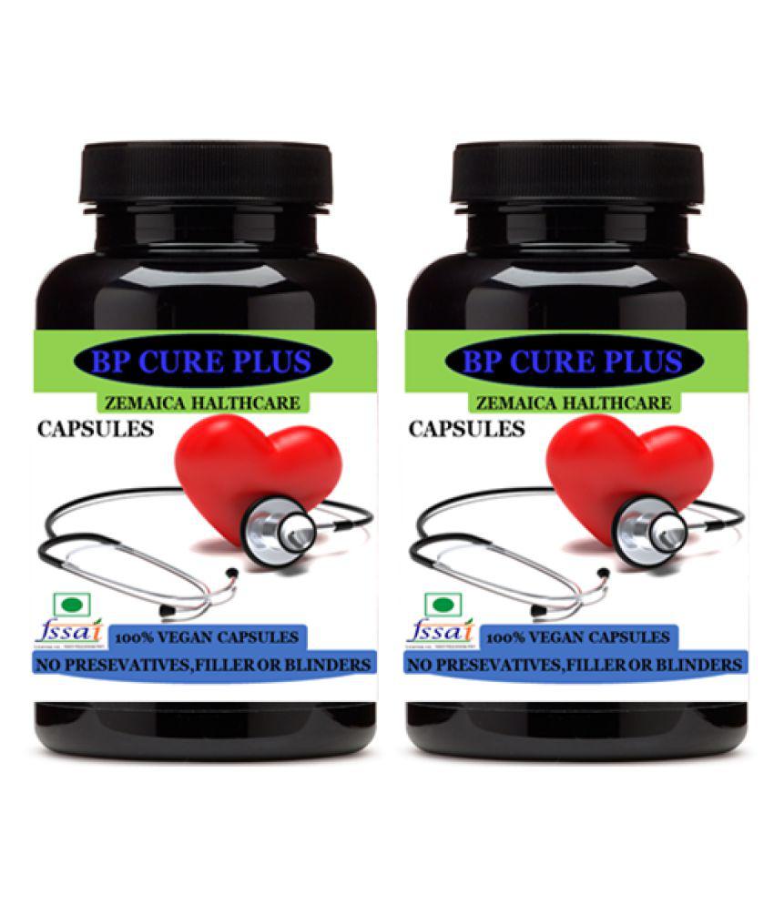 Zemaica Healthcare BP Cure Plus-Herbal Capsule For Capsule 60 no.s Pack Of 2