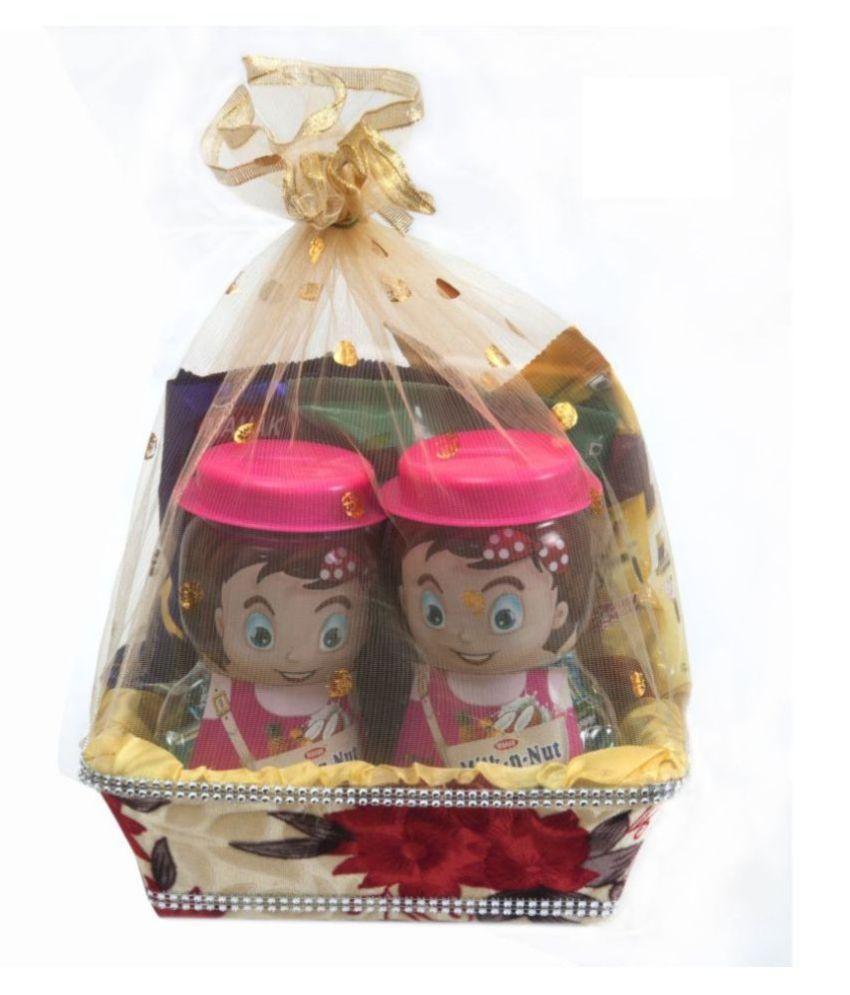 Mahak Candy Basket Gift Hamper for NewYear, Festive Season 450 gm