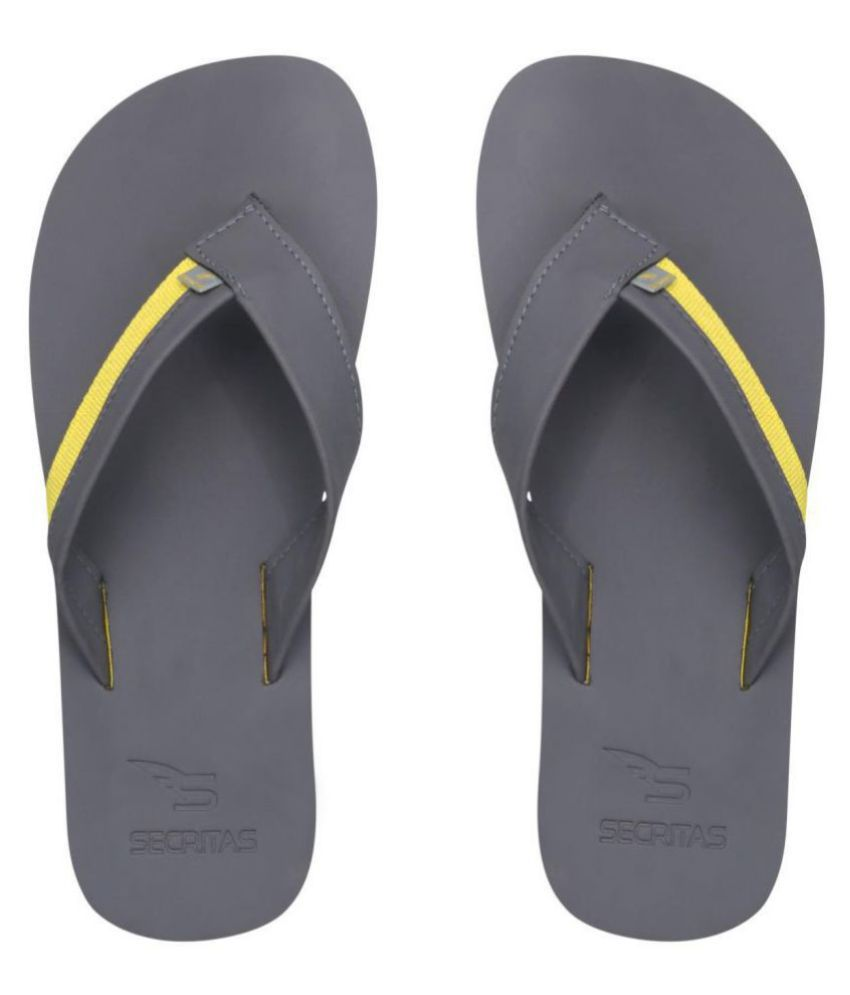 Secritas Yellow Daily Slippers