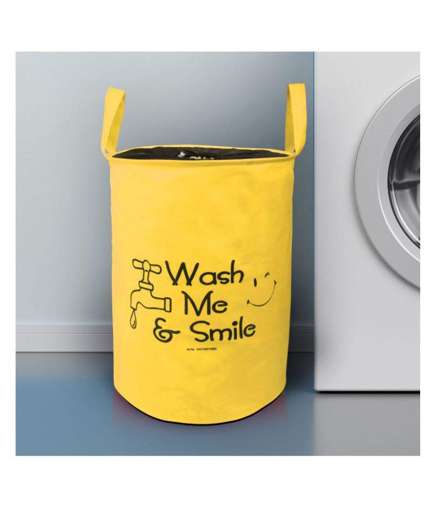 E Retailer Set of 1 20 L+ Laundry Bags Yellow
