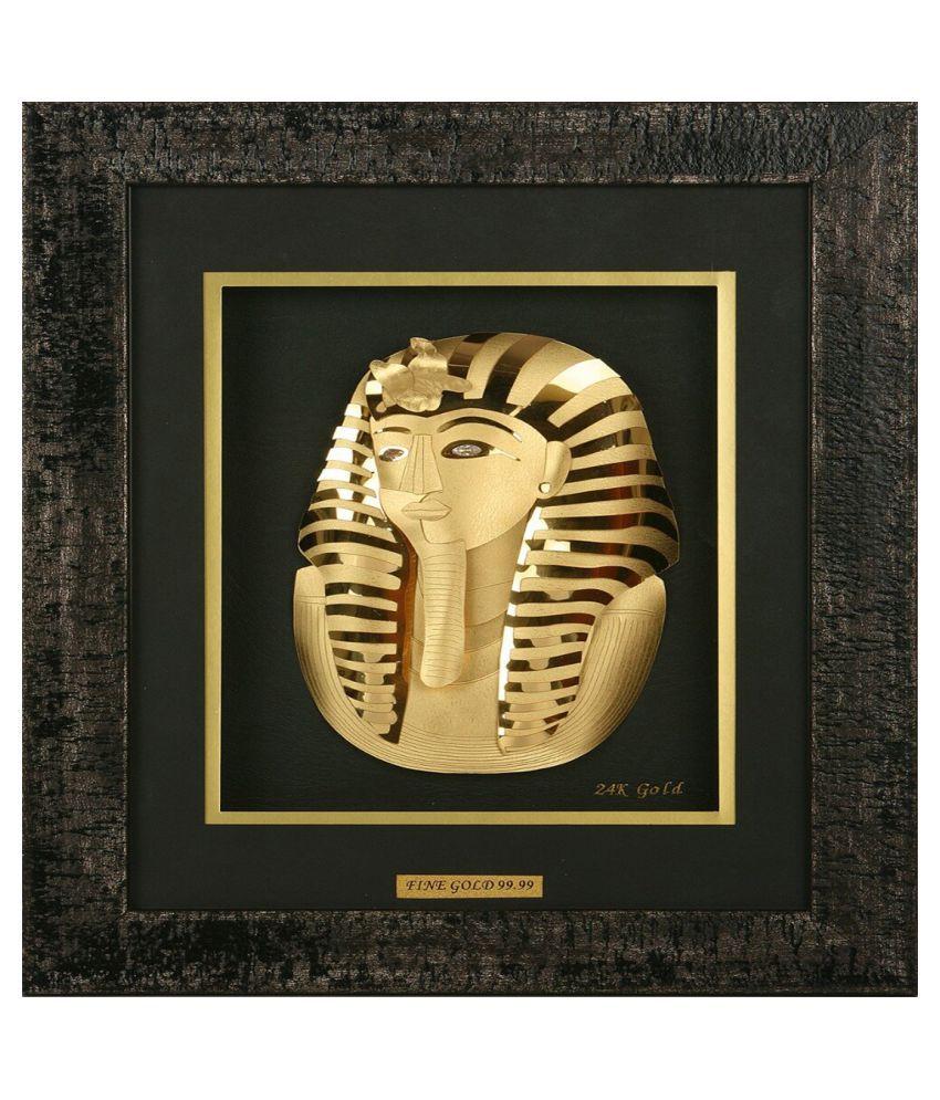 AARYA 24KT Acrylic Gold Single Photo Frame   Pack of 1