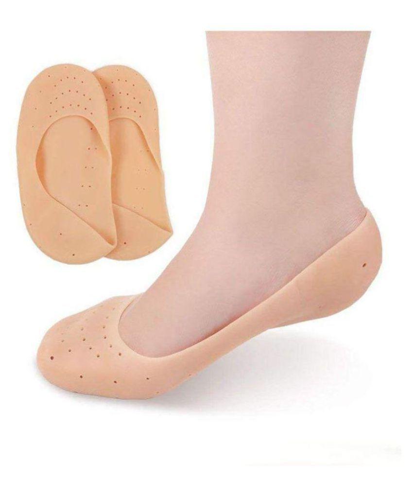 HI-LEE Trending Full Gel Heel Socks Ankle Regular