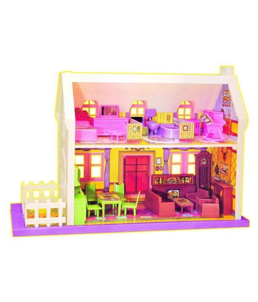 34 piece doll house