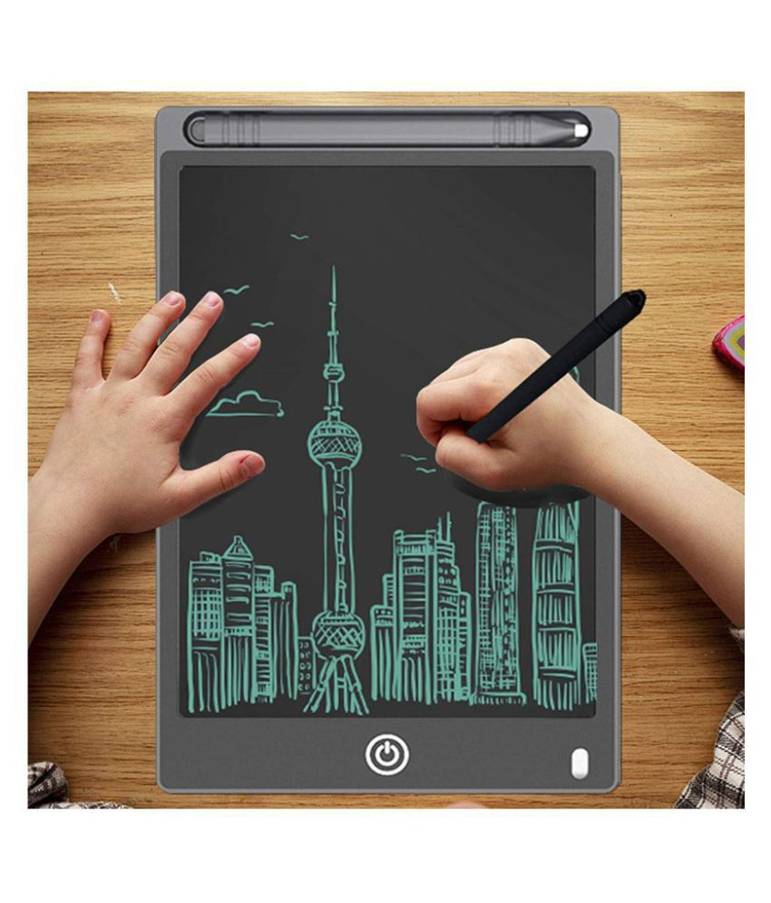 Color : Picture color , Size : 8.5 inches School and Office LCD Tablet 3 Pcs 8.5 Inches Childrens Drawing Board LCD Writing Board Electronic Office Small Blackboard Suitable For Kids For Home