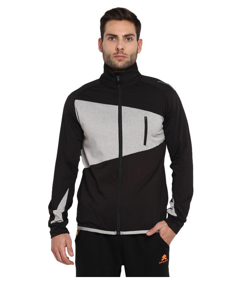 YUUKI Navy Polyester Fleece Sweatshirt
