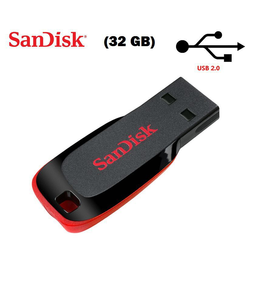 SanDisk Cruzer Blade USB Flash Drive 32GB