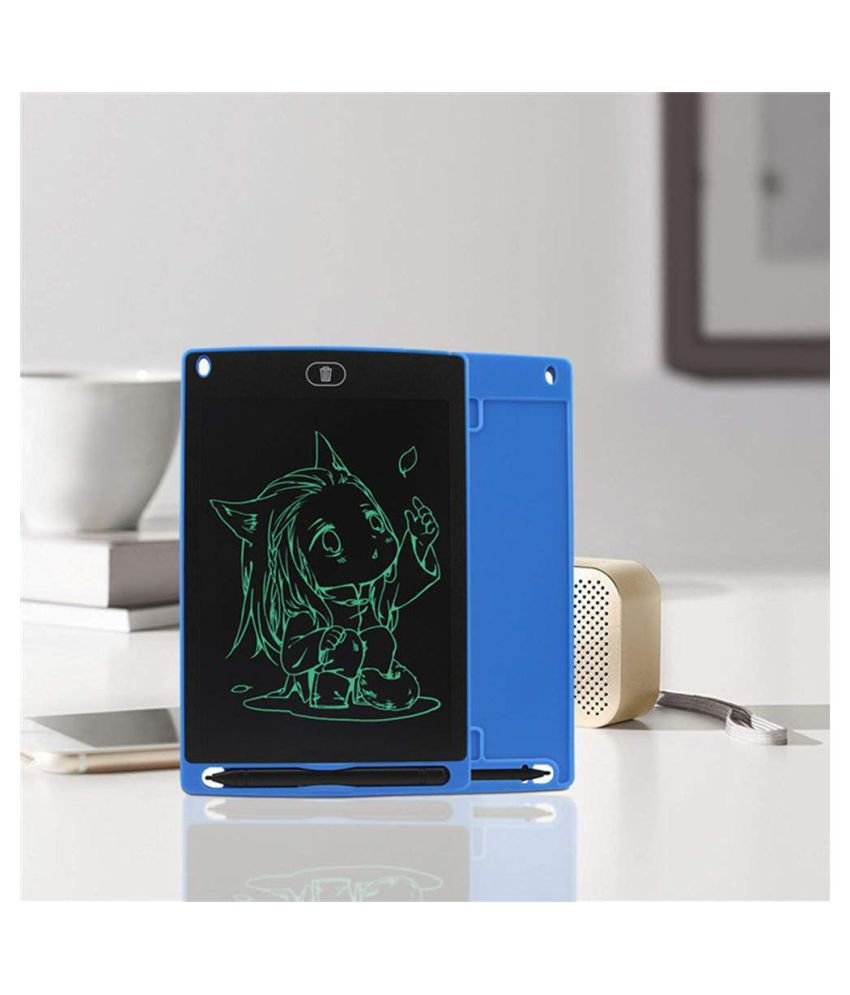 8.5 Inch LCD Writing & Drawing Tablet with Stylus for Kids and Office Use (Assorted Color)
