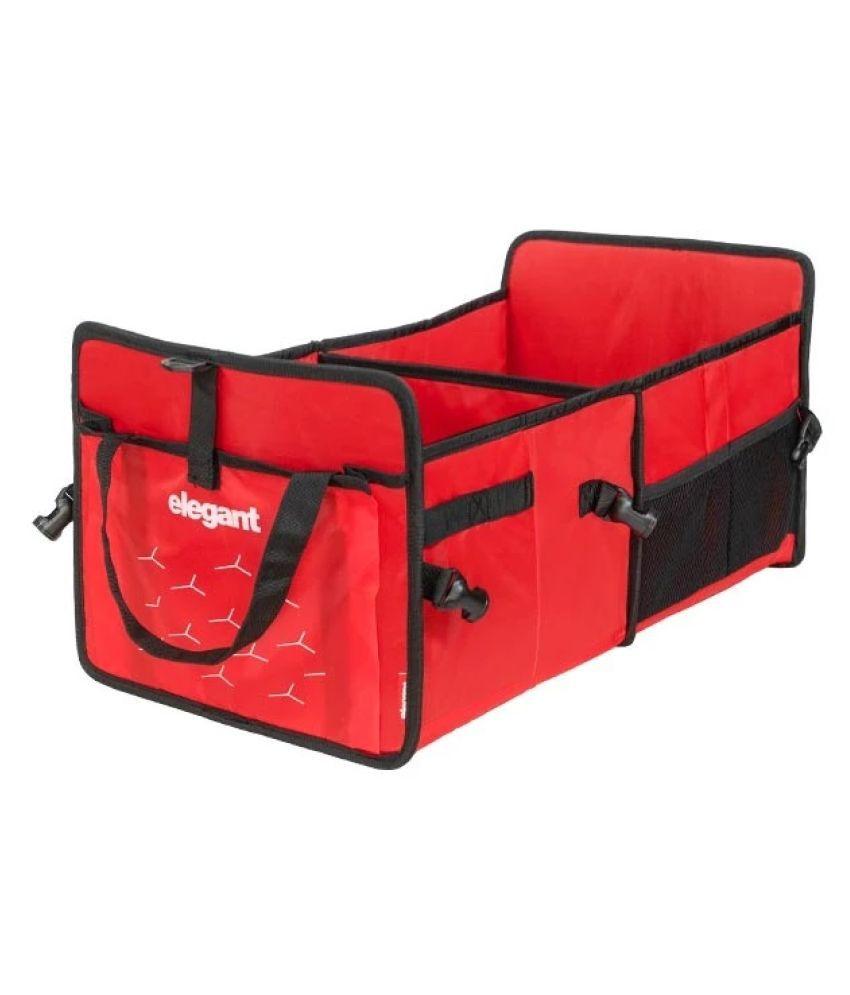 Elegant Multi Pocket Organizer for Red