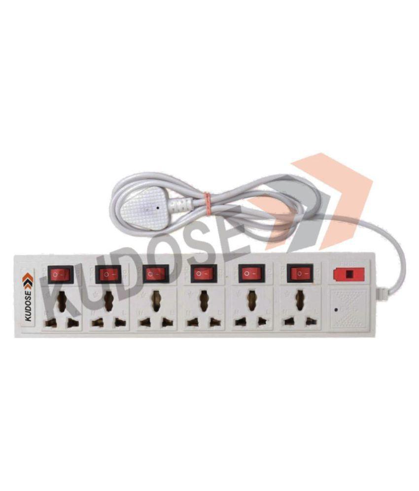 kudose 6 Socket Extension Board