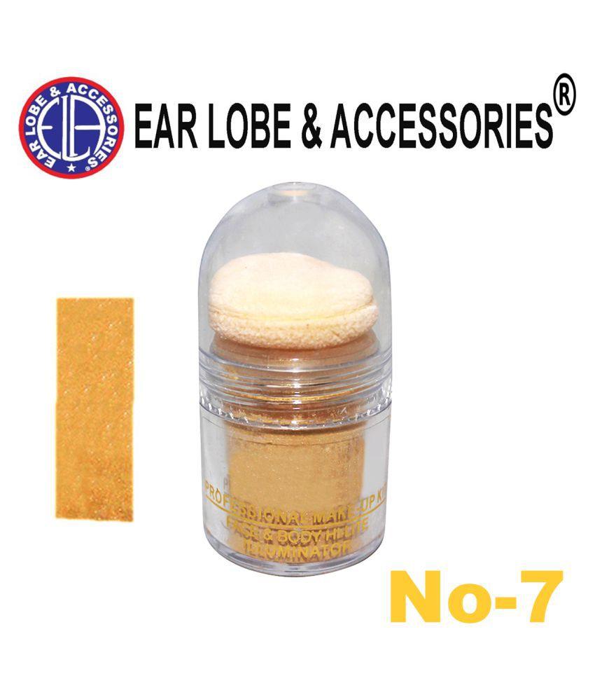 Ear Lobe & Accessories Face & Body Hi-Lite Illuminator 8 Nude 10 g