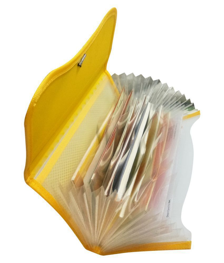 Medium Size Expanding Documents Holder to Organize Papers, Chequebooks , Passbooks etc Durable Good Quality