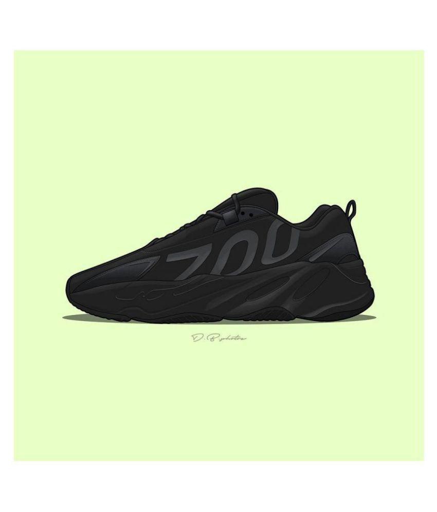 NEEL YEZZY SHARK 700 Black Basketball