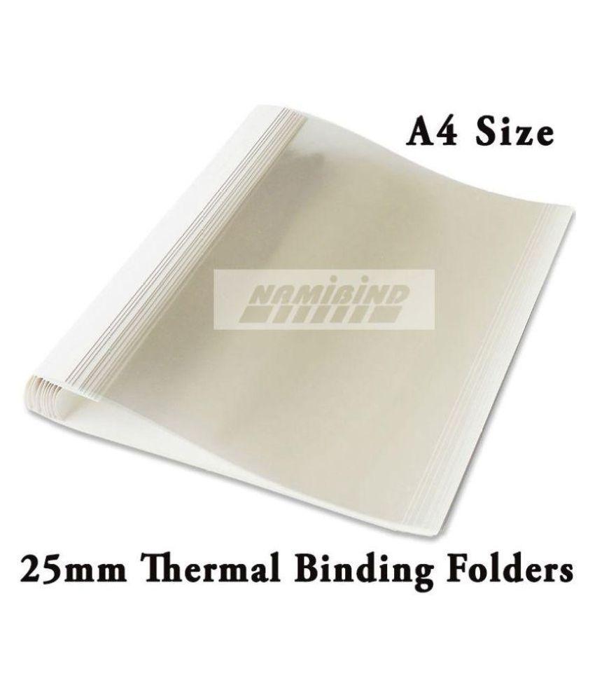 Namibind 25 mm Thermal Binding Folder or Cover