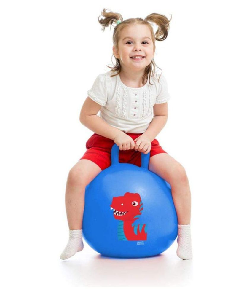 Tickles Blue Jumping Ball Outdoor Game