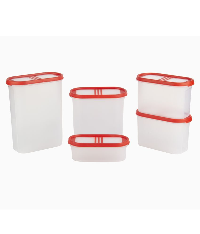 Cutting Edge Polyproplene Food Container Set of 5 7125 mL