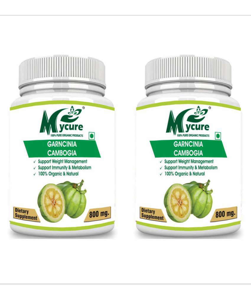my cure PREMIUM QUALITY GARCINIA 800 mg Pack of 2