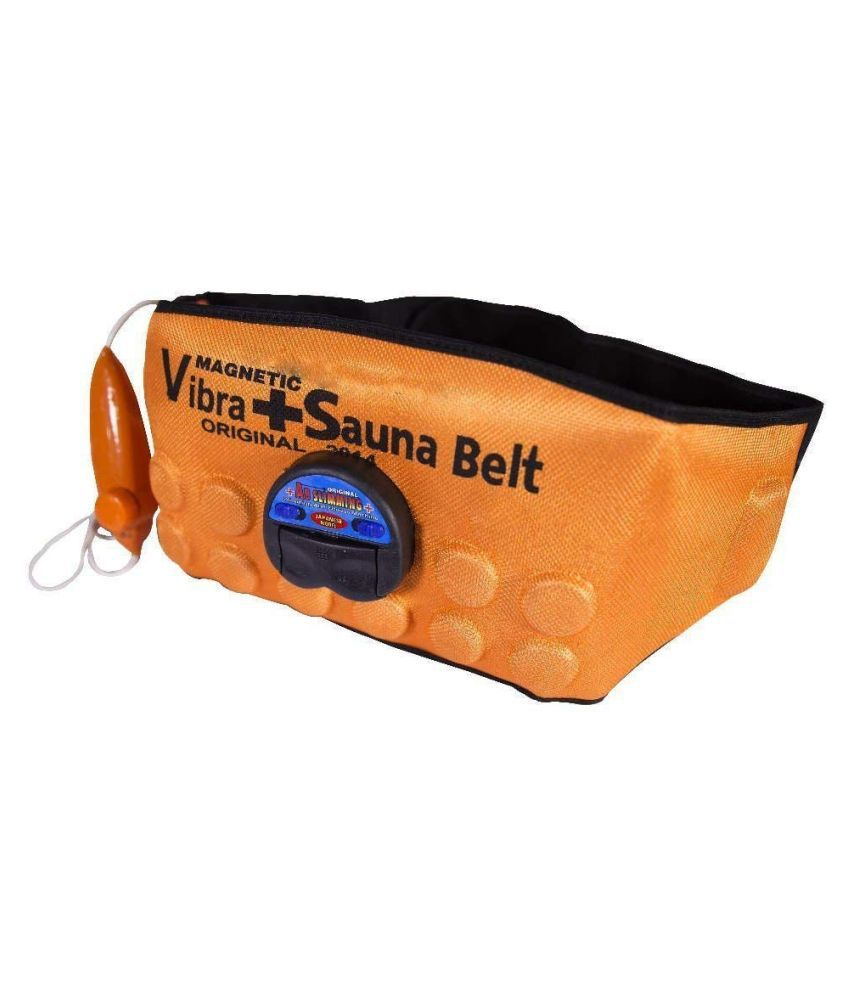 Hanuman Impex Abslimming 3 in 1 Magnetic Vibration Plus Sauna Slimming Belt