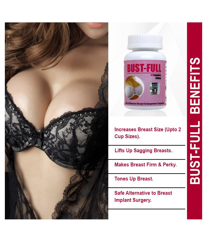 Bust Full Capsules for Breast Enlargement, Breast Firming and Tightening