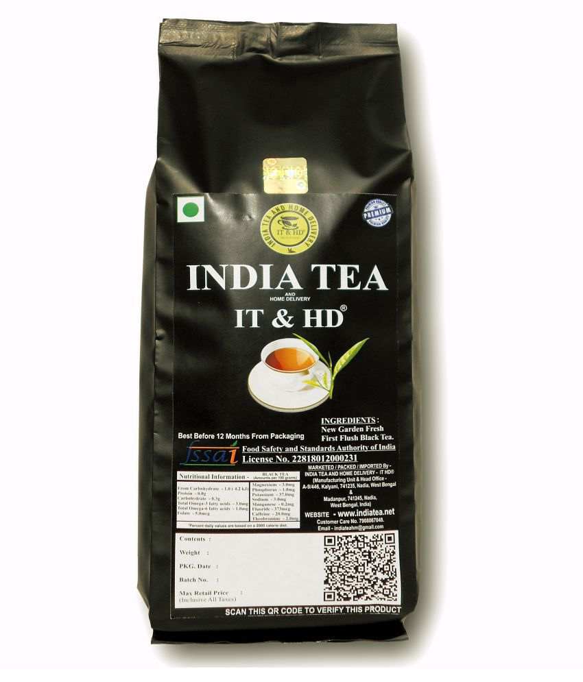 IT & HD Darjeeling Tea Loose Leaf SWEET MIND AROMA LEAF TEA 300 gm