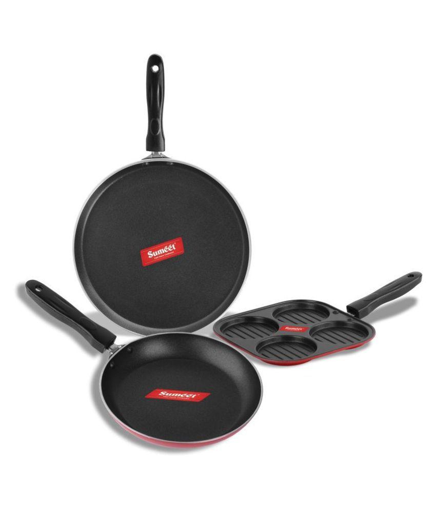 Sumeet Gilroy Nonstick 3 Piece Cookware Set